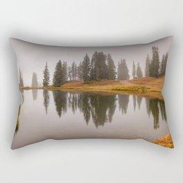 Colorado Fall Colors Panorama Rectangular Pillow