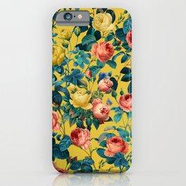 Summer Botanical Garden X iPhone Case