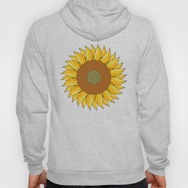 SUNNY DAY (abstract flowers) Hoody
