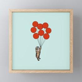 I Believe I Can Fly English Bulldog Framed Mini Art Print
