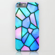 pastel stained glass Slim Case iPhone 6