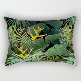 Dark Jungle Rectangular Pillow