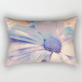 Floral Abstract Rectangular Pillow