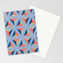 Library ceramic tile pattern Stationery Cards