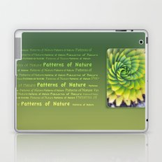 Patterns of Nature - succulent I Laptop & iPad Skin