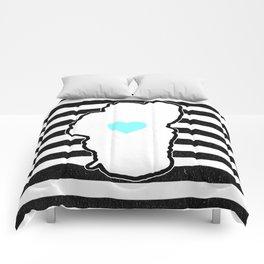 Love Floats Comforters