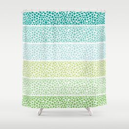 Zen Pebbles Shower Curtain