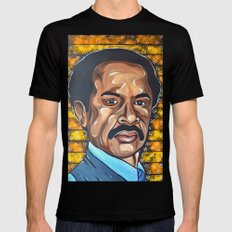 George Jefferson 2X-LARGE Black Mens Fitted Tee