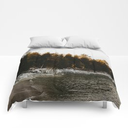 Cave Point Comforters