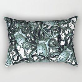 Riptide_black marble Rectangular Pillow