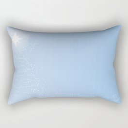Starlight Christmas Tree Rectangular Pillow