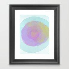 burbuja Framed Art Print