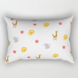 kids animal pattern Rectangular Pillow