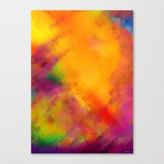 Purple - Abstract Digital Painting Canvas Print
