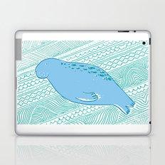 Manatees are Rotund Sea-Mammals Laptop & iPad Skin