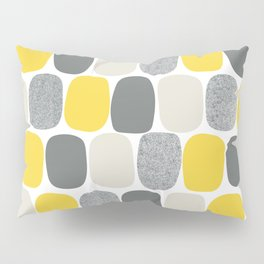 Wonky Ovals in Yellow Pillow Sham