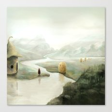 The Visitors Canvas Print