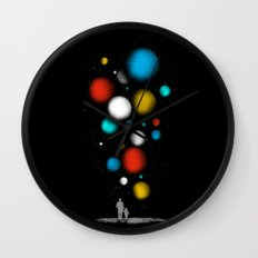 The Worlds Ahead of You Wall Clock