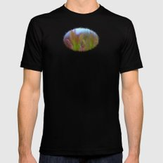 Fairy Like Sundew - JUSTART © Black Mens Fitted Tee MEDIUM