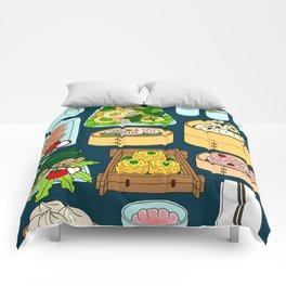 Dim Sum Lunch Comforters
