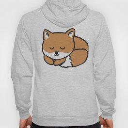 Sleeping Kawaii Fox Hoody