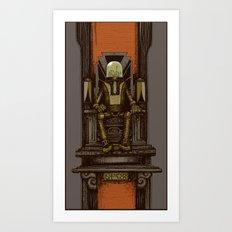 Pax Robota Art Print