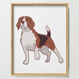 Beagle dog Serving Tray