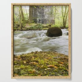 Woodland River Serving Tray