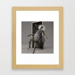 ENTER ∀ Framed Art Print