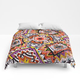 Tribal Abstract Comforters
