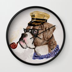 Mr.Boxer Wall Clock