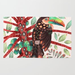 Toucan In A Fruit Tree Rug