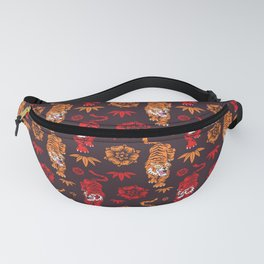 Tigers pattern 3 Fanny Pack