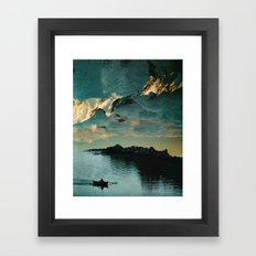 A Meditation Framed Art Print