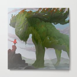 Forest Giant Metal Print