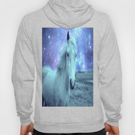 Celestial Dreams Horse Periwinkle Lavender Aqua Hoody