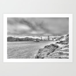 A Bridge Too Far Art Print