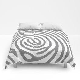 PRINTED GREY Comforters