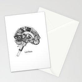 Left Brain Stationery Cards