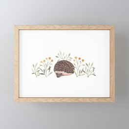 Little Hedgehog Framed Mini Art Print