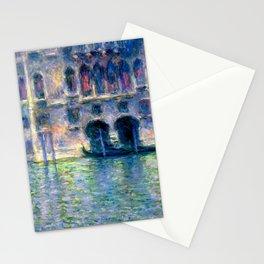 Claude Monet Palazzo da Mula in Venice Stationery Cards