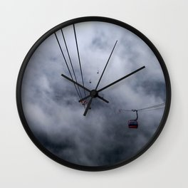 Direct access to outer space? Wall Clock