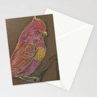 Vivid Bird Stationery Cards