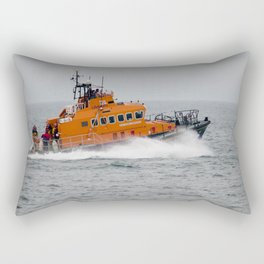 Lifeboat in action Rectangular Pillow