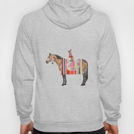Horse with hare  Hoody