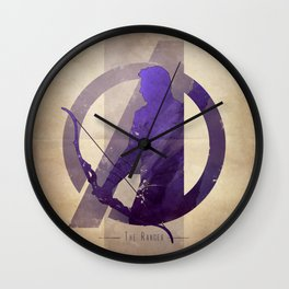 Avengers Assembled: The Ranger Wall Clock