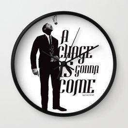 Sam Cooke Wall Clock