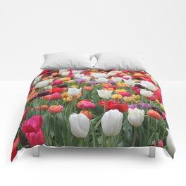 Tulips Comforters