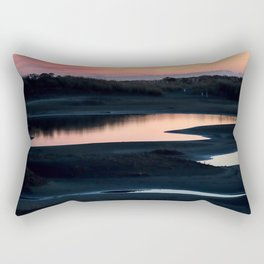Sunset Reflection Rectangular Pillow