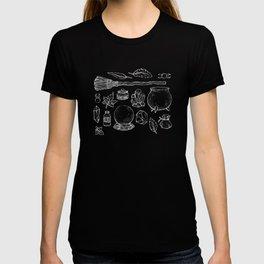 Witchcraft I [B&W] T-shirt